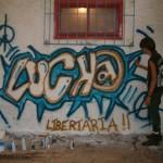 Grafitti no Primeiro Encontro de Grupos Autonômos