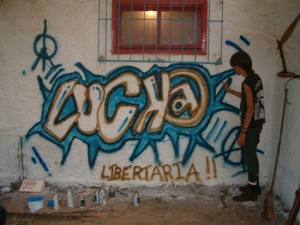 Graffitti libertário